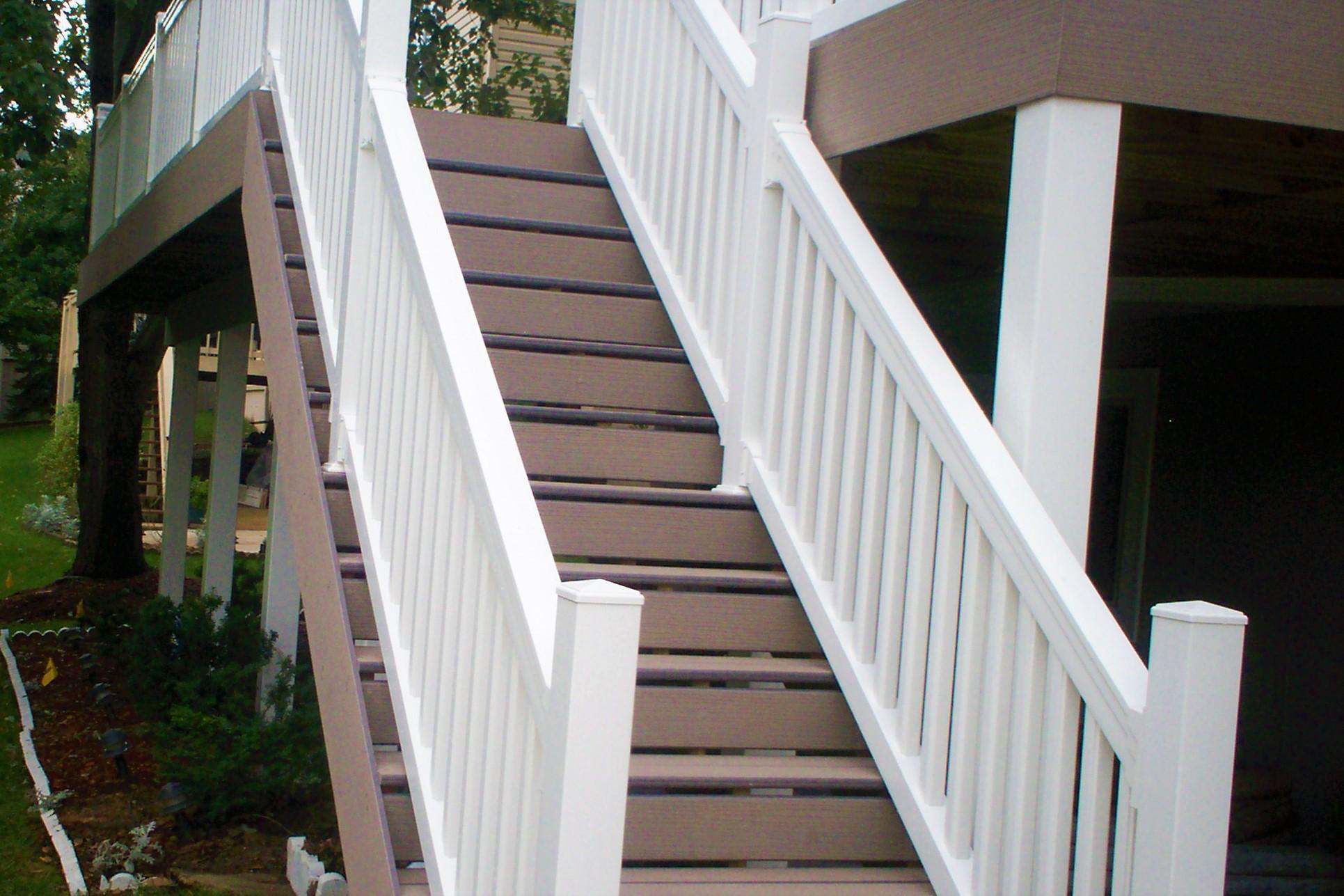лестницы из пластика